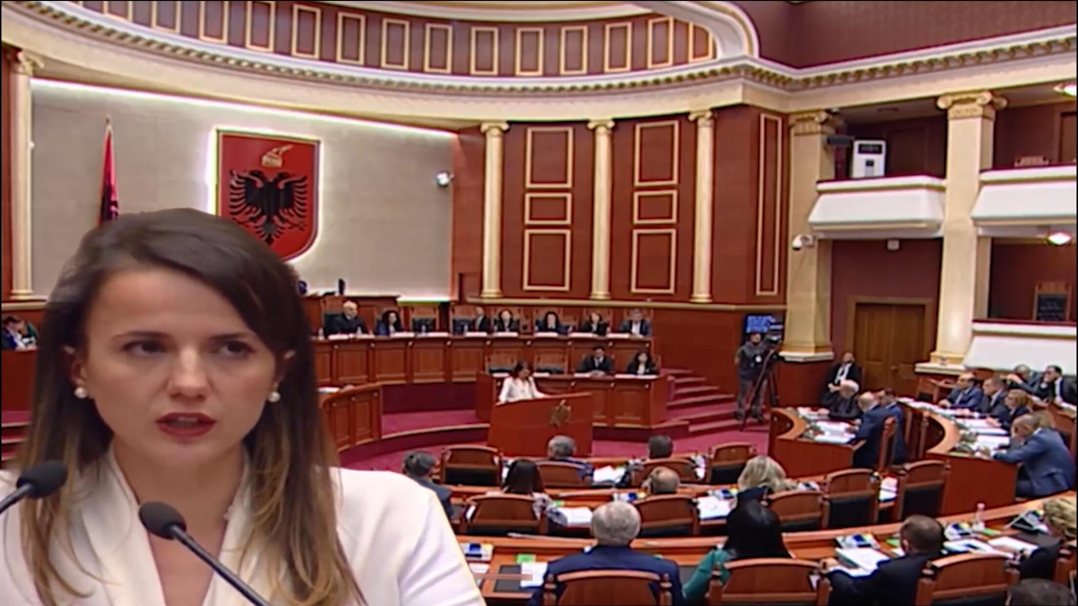 """Rudina Hajdari: """"Grupi Parlamentar Demokrat""""është krijuar në përputhje të plotë me Rregulloren e Kuvendit"""