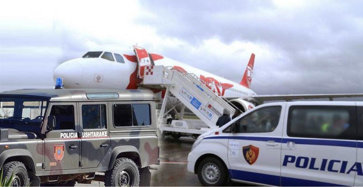 Ushtria merr në dorë sigurinë e aeroportit të Rinasit