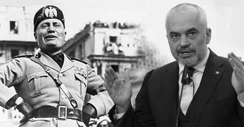 Rama vetë-krahasohet me Duçen, opozita do të zhduket si në kohën e fashizmit.
