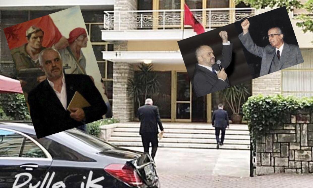 Sali Berisha/Xhelatet te diktatures hoxhiste me ne krye Edvin Kristaq Xhelatin!