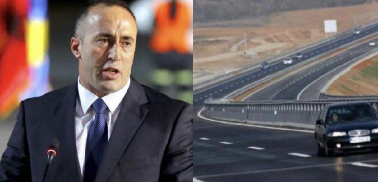 """Ramush Haradinaj: Shqipëria të heqë taksën në """"Rrugën e Kombit"""""""