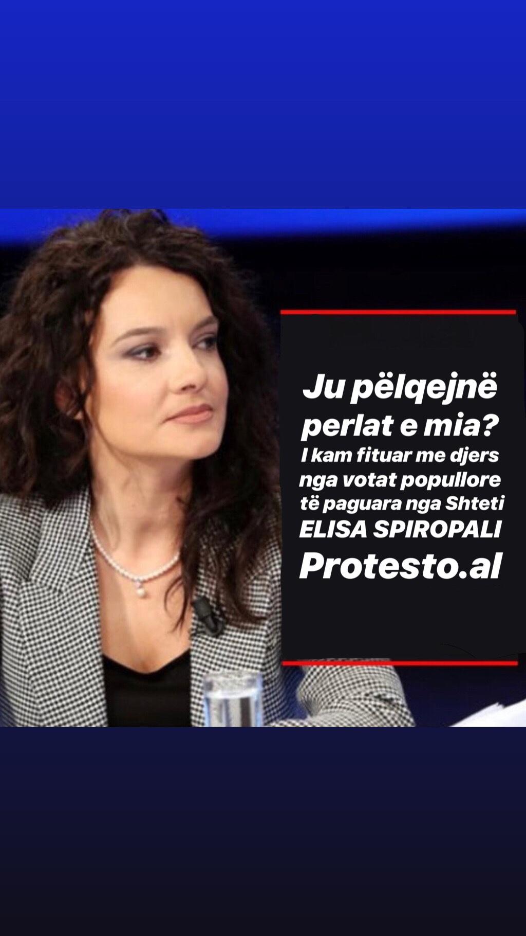 Elisa Spiropali shpall postulatet e saj të ndritura (Mësojini ato përmendësh!)