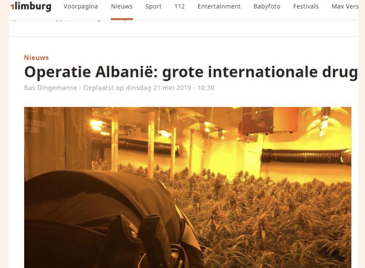 Media Holandeze: Shqiptarët na kanë pushtuar me drogën