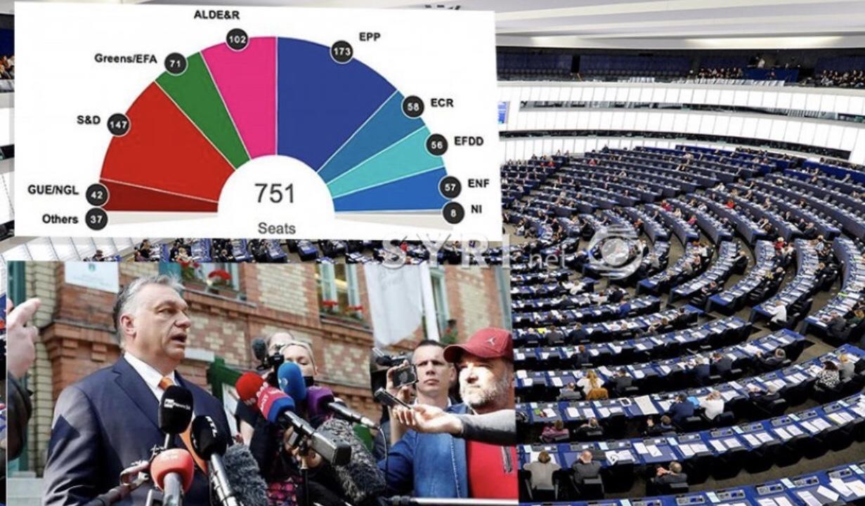 Europa votoi Djathtas/Nga Gjermania në Greqi, nga Austria në Hungari