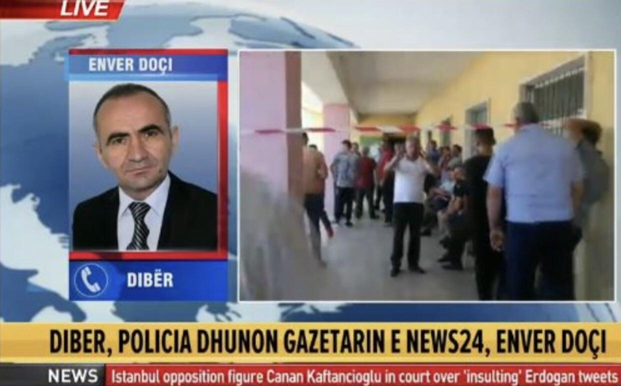 Tensionet në Dibër, dhunohet gazetari