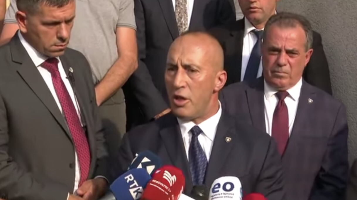 Ramush Haradinaj jep dorëheqjen