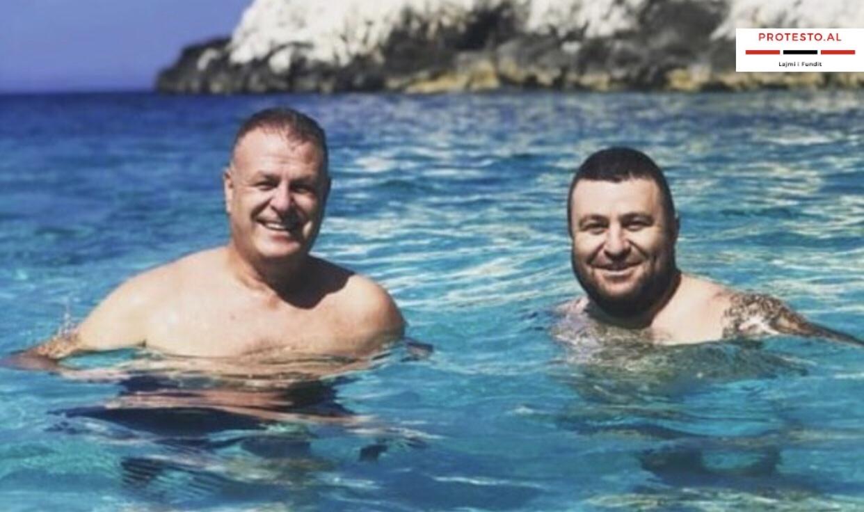 Edmond Leka Deputeti i PS zyrtarisht me pushime, eksploron gjiret e Vlorës me nipin e Zani Caushit