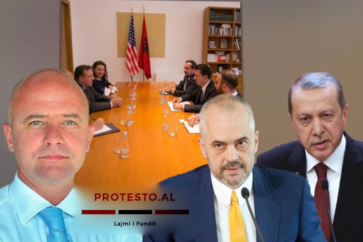 """Gent Strazimiri: Partneri strategjik i shqiptarëve, nuk është më ai i qeverisë """"Turqia"""", por SHBA"""