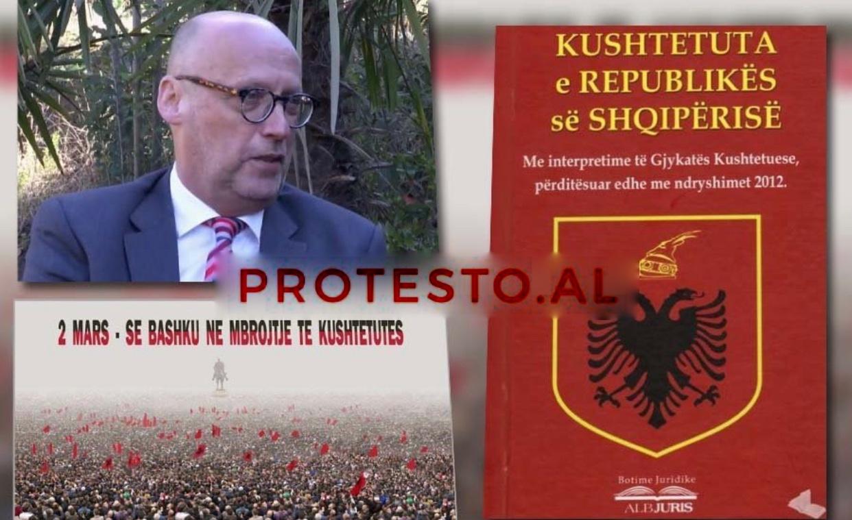 Këshilltari i CDU: 2 Mars të gjithë shqiptarët të mbrojnë Kushtetutën si patriotë