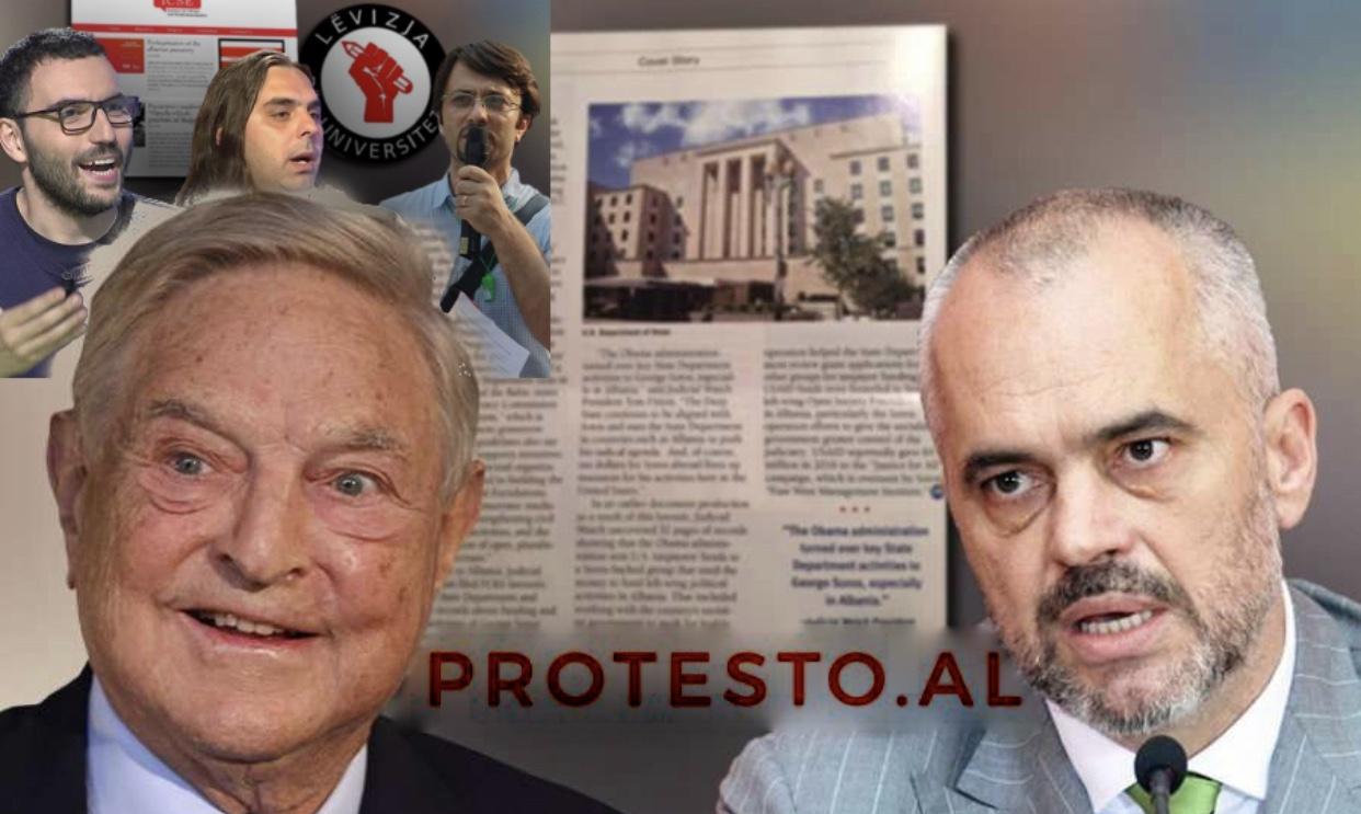 Soros ka financuar neokomunistët e rinj në Shqipëri.