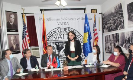VATRA- TAKIM ME MINISTREN E JASHTME & TË DIASPORËS TË REPUBLIKËS SË  KOSOVËS ZNJ.MELIZA HARADINAJ STUBULLA
