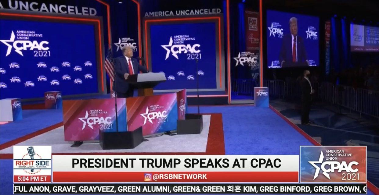 Fjalimi i Trump në CPAC – LIVE!