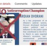 Peticioni i Komunitetit Shqiptar në Diasporën e SHBA-ve dhe Kanadasë drejtuar Sekretarit të Shtetit të SHBA, për Dvoranin