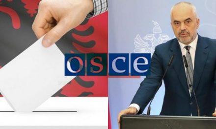 Raporti përfundimtar i OSBE/ODIHR konfirmon se me 25 prill u tjetërsua vullneti i shqiptarëve.