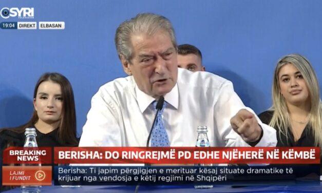 """Berisha """"I kam të gjitha të dokumentuara""""  mëtej zbulon axhendën e Bashës dhe ka një mesazh të fortë për të"""